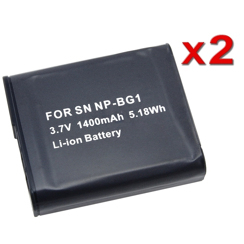 INSTEN Sony NP-BG1/ NP-FG1 Cybershot Camera Battery (Pack of 2) - Thumbnail 0