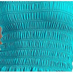 Stanzino Women's Turquoise Tube Dress - Thumbnail 2