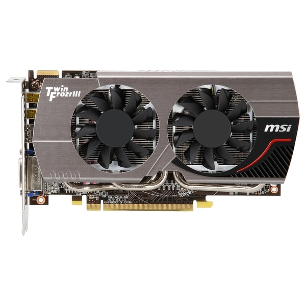 MSI R7850 TWIN FROZR 2GD5/OC Radeon HD 7850 Graphic Card - 900 MHz Co