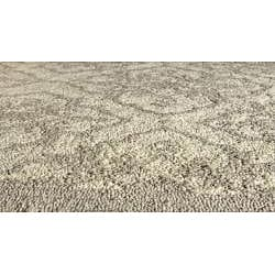 Indoor/ Outdoor South Beach Taupe Diamonds Rug (8' x 10')