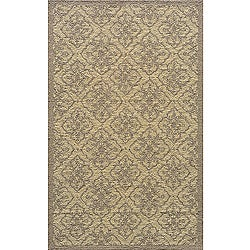 Momeni Veranda Taupe Tile Indoor/Outdoor Rug - 8' X 10' - Thumbnail 0
