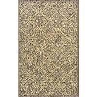 Momeni Veranda Taupe Tile Indoor/Outdoor Rug - 8' X 10'