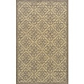 Momeni Veranda Taupe Tile Indoor/Outdoor Rug - 8' X 10'