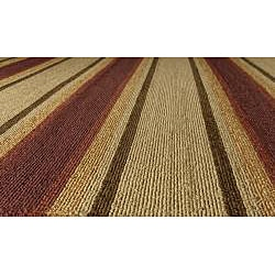 South Beach Multi Stripes Indoor/Outdoor Rug (5' x 8') - Thumbnail 1