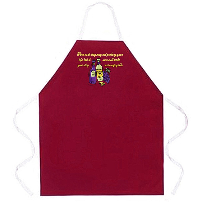 Attitude Aprons Wine Each Day Apron
