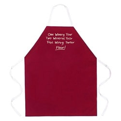 'One Winery Tour' Apron-Maroon