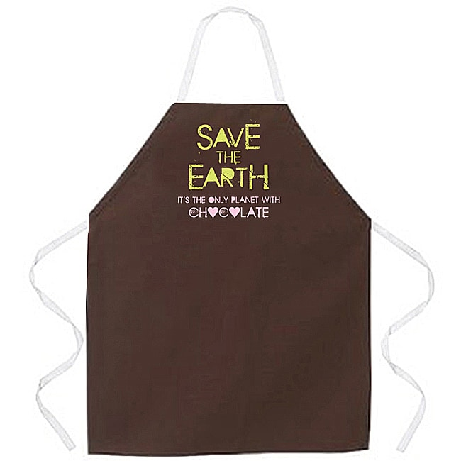 'Save The Earth' Kitchen Apron