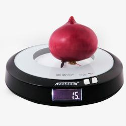 WeightMax Digital Kitchen Scale and Clock - Thumbnail 1