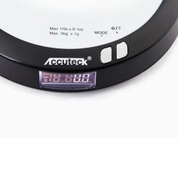 WeightMax Digital Kitchen Scale and Clock - Thumbnail 2