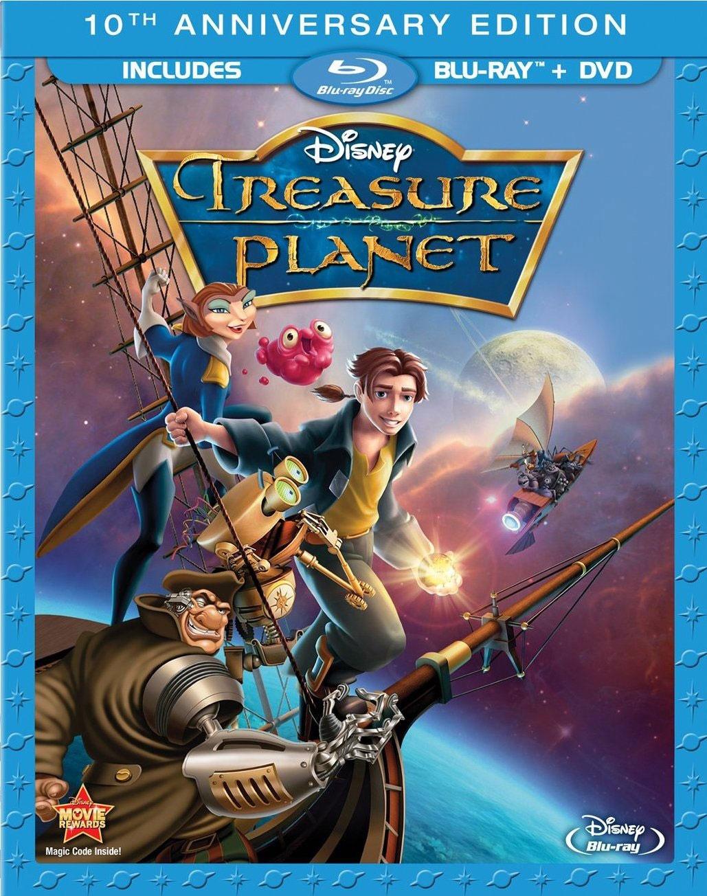 Treasure Planet (10th Anniversary Edition) (Blu-ray Disc)