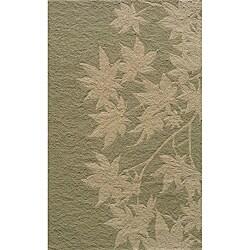 Momeni Veranda Sage Leaves Indoor/Outdoor Rug - 8' x 10' - Thumbnail 0