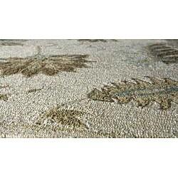 Momeni Veranda Sand Floral Indoor/Outdoor Rug (3'9 X 5'9) - Thumbnail 1
