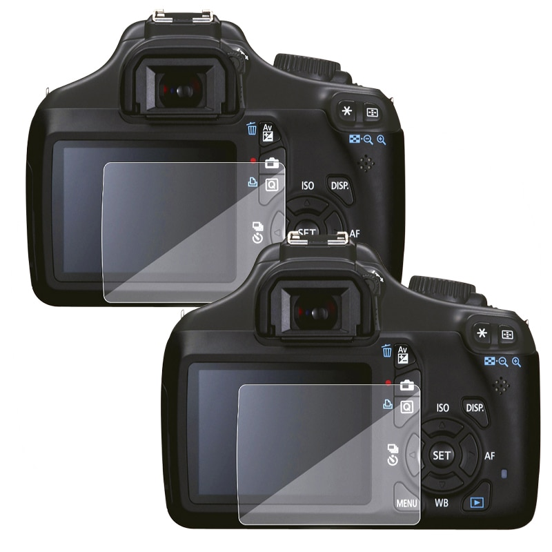 INSTEN Anti-scratch PVC Screen Protectors for Canon EOS 1100D (Pack of Two)