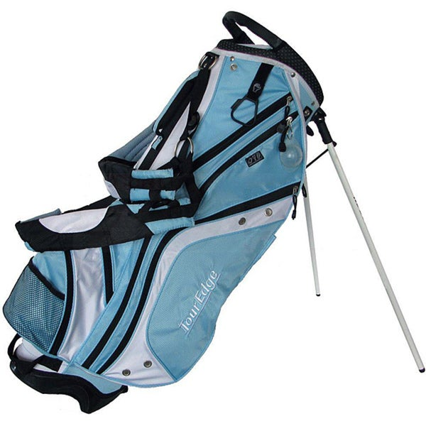 Light Stand Golf Bag: Tour Edge Light Blue Max-D Stand Golf Bag