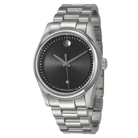 Movado Men's 606481 Stainless Steel Sportivo Watch - Silver