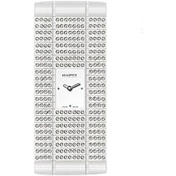 Haurex Women's Italy White Natural Crystal Watch