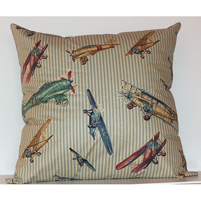 Airshow Decorative 22-inch Pillow