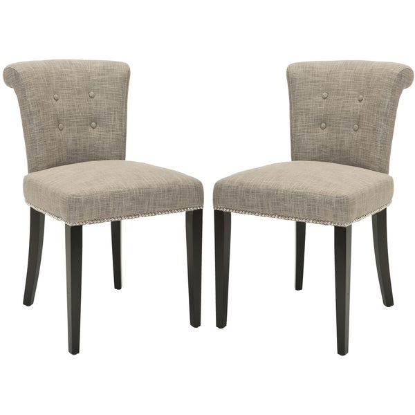 Safavieh En Vogue Dining Carrie Heather Grey Side Chairs (Set of 2)