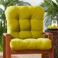 Greendale Home Fashions Outdoor Kiwi Seat/Back Chair Cushion - 21w x 42l