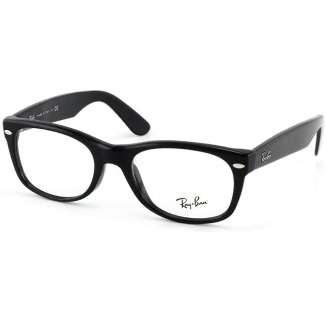 Ray-Ban RX 5184 'New Wayfarer' 50-mm 2000 Black Eyeglasses