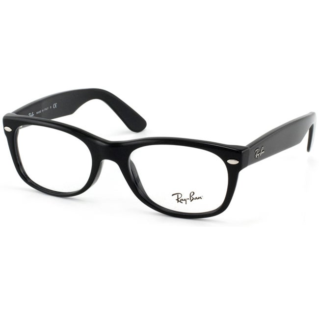 Ray Ban Eyeglass Frames Made In China : Ray-Ban RX 5184 New Wayfarer 50-mm 2000 Black Eyeglasses ...
