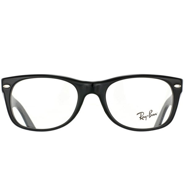 4b2dd03a557 Shop Ray-Ban RX 5184  New Wayfarer  50-mm 2000 Black Eyeglasses - Free  Shipping Today - Overstock - 6585315