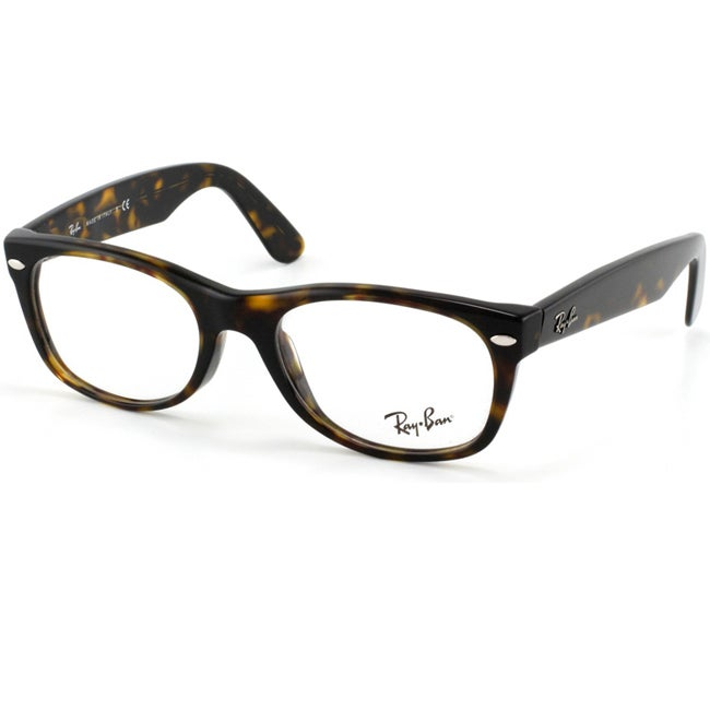 6090d6a46a154 Shop Ray-Ban RX 5184  New Wayfarer  50-mm 2012 Havana Eyeglasses - Free  Shipping Today - Overstock - 6585316