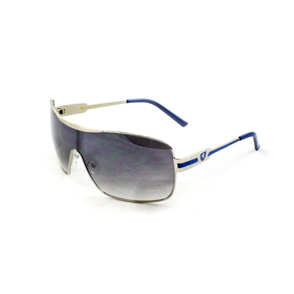 Men's M3728SVRBUPB White/ Blue Shield Sunglasses