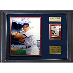 Minnesota Twins Harmon Killebrew Autographed 12x18 Card Frame