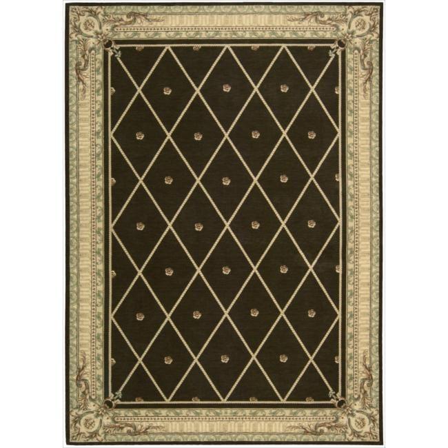 Nourison Ashton House Brown Wool Rug (9'6 x 13')