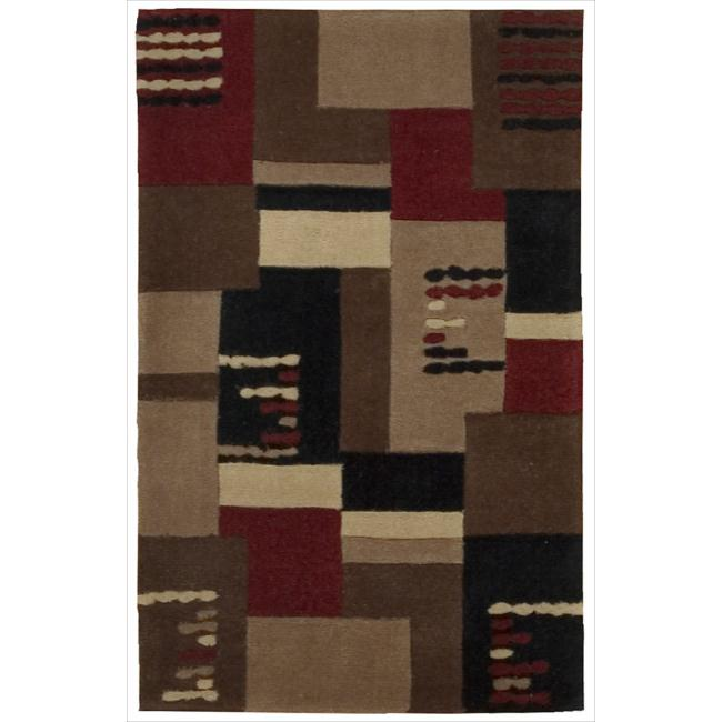 Nourison Hand-tufted Dimensions Taupe Rug (1'9 x 2'9)