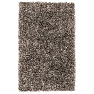 Link to Hand-woven Gray Bartine Soft Plush Shag Area Rug - 5' x 8' Similar Items in Rugs