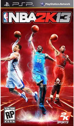 PSP - NBA 2K13
