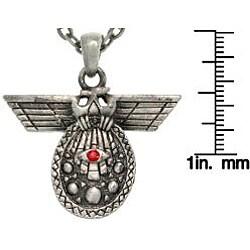 Carolina Glamour Collection Pewter Unisex 'Deity of Intelligence' Necklace
