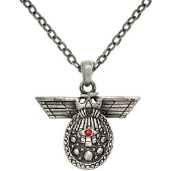 Carolina Glamour Collection Pewter Unisex 'Deity of Intelligence' Necklace