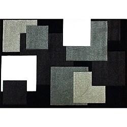 Modern Deco Chocolate Boxes Rug (5'2 x 7'2)