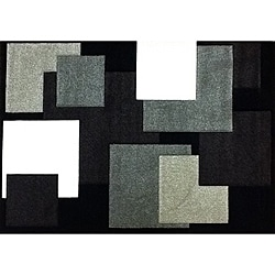 Modern Deco Chocolate Boxes Rug (7'9 x 10'5)