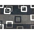 Modern Deco Grey Geometric Rug - 5'2 x 7'2