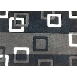 Modern Deco Grey Geometric Rug (7'9 x 10'5)
