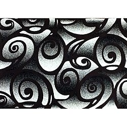 Generations Chocolate Clave Rug - 7'9 x 10'5