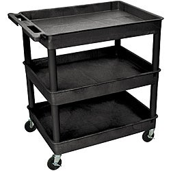 Pine Canopy Zion 3 Shelf Tub Utility Cart