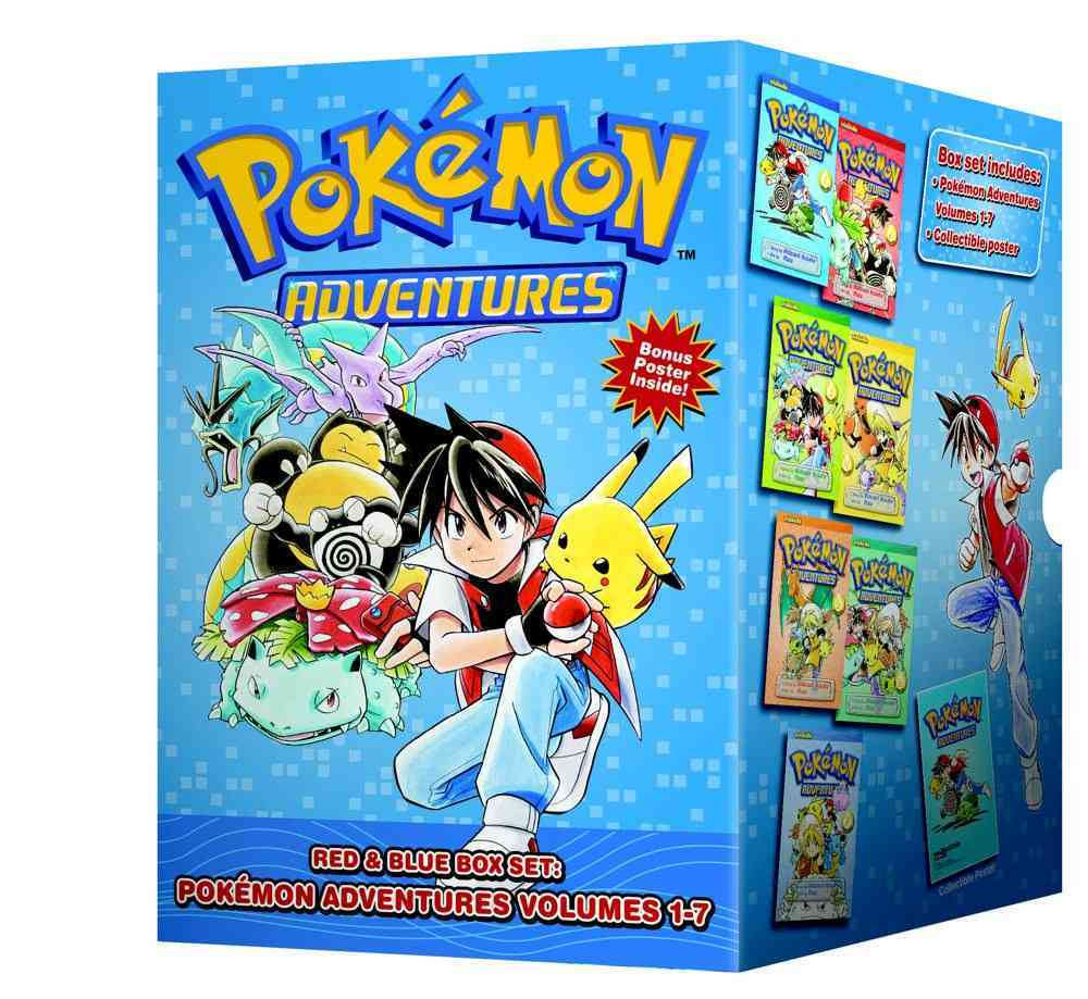 Pokemon Adventures: Red & Blue Box Set (Paperback)