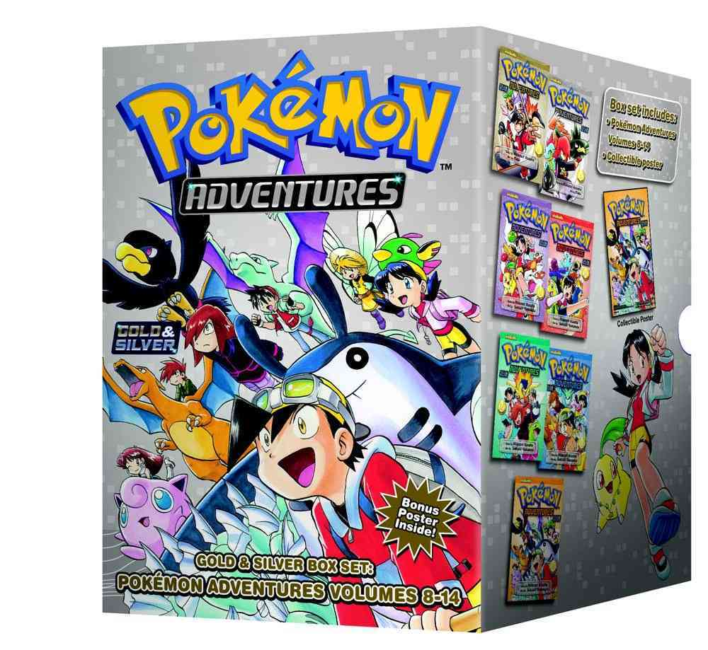 Pokemon Adventures Gold & Silver Box Set (Paperback) - Thumbnail 0