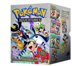 Pokemon Adventures Gold & Silver Box Set (Paperback)