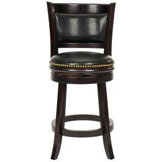 Safavieh 24-inch Ulster Cappuccino Finish Counter Stool