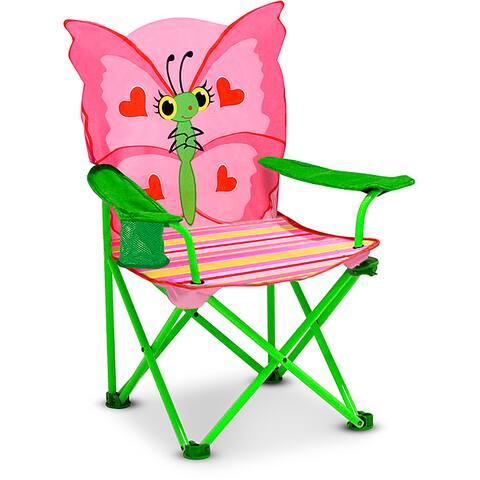 Melissa & Doug Bella Butterfly Folding Chair