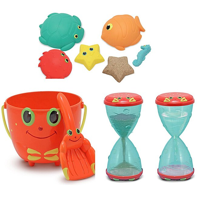 Melissa Doug Toys : Melissa doug sunny patch sand toy bundle free shipping