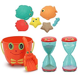 Melissa & Doug Sunny Patch Sand Toy Bundle - Thumbnail 0