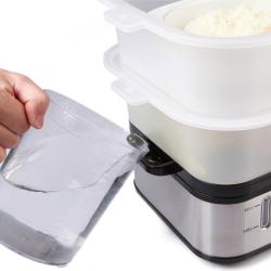 E-Ware Dual-Layer Multi-Purpose Large Food Steamer - Thumbnail 2