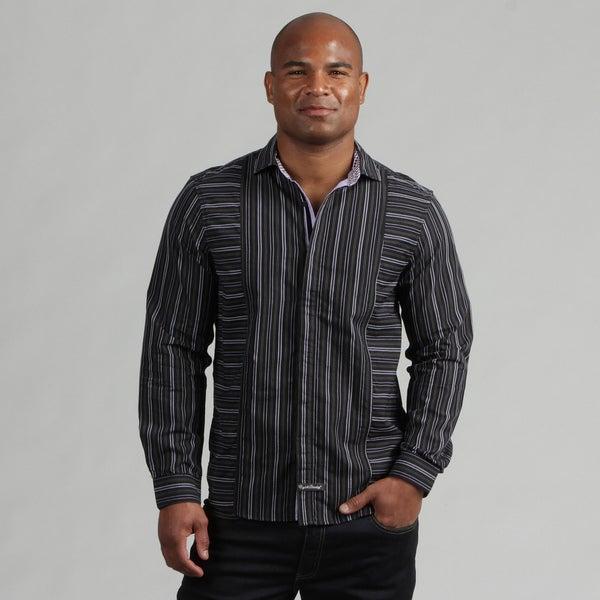 English Laundry Men's Striped Woven Shirt FINAL SALE